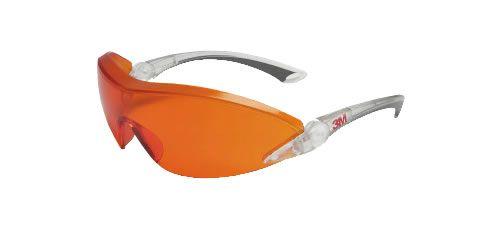 3M 2846 narancs lencséjű védőszemüveg - UV 400 védelem