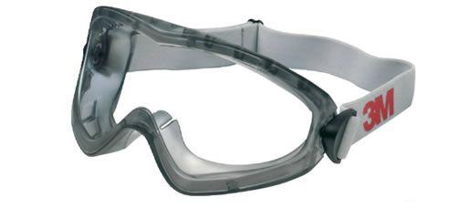 3M 2890 S gumipántos védőszemüveg - UV 400 védelem