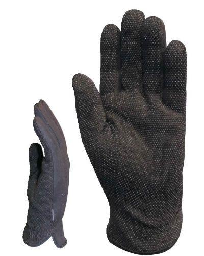 4180 tenyéren minipettyezett fekete védőkesztyű
