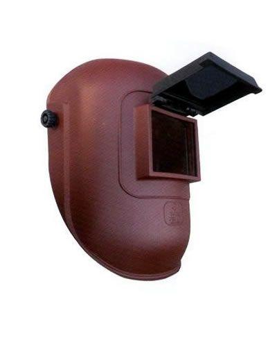 Felhajtható üvegű fejpajzs 90x110 mm látómezővel (AZ ÜVEG NEM TARTOZÉK!)