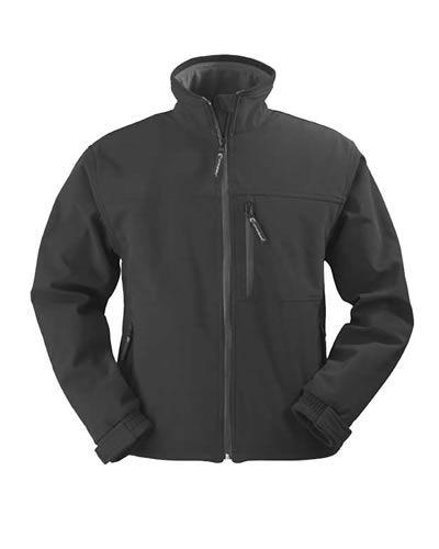 Yang fekete softshell pulóverátmeneti kabát