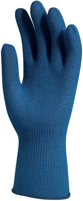 4550 Kötött kék thermolite/lycra kesztyű