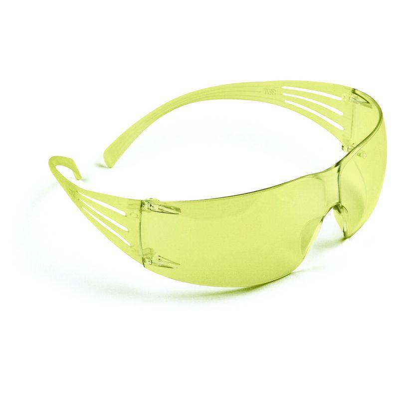 3M Secure fit sárga munkavédelmi szemüveg - UV 400 védelem