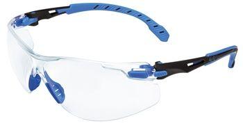 3M SOLUS - Fekete/kék, víztiszat védőszemüveg