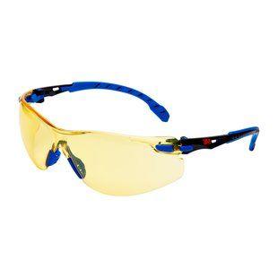 3M SOLUS - Kék/fekete keretes, borostyán lencsés védőszemüveg