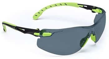 3M SOLUS - zöld/fekete keret, szürke lencsés védőszemüveg