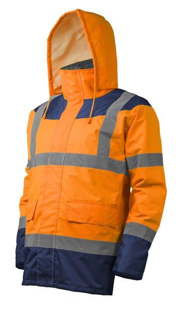 KETA Jólláthatósági védőkabát narancs-kék színben